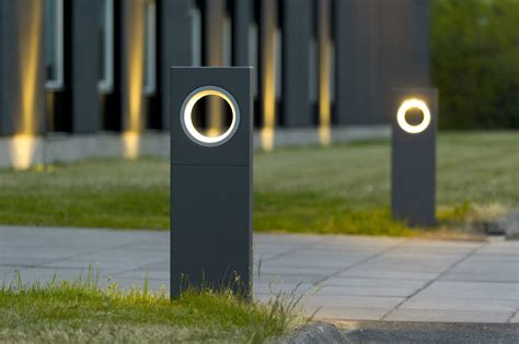 Landscape Bollard Lighting Moon Bollard Light By Platek Design Olle Lundberg