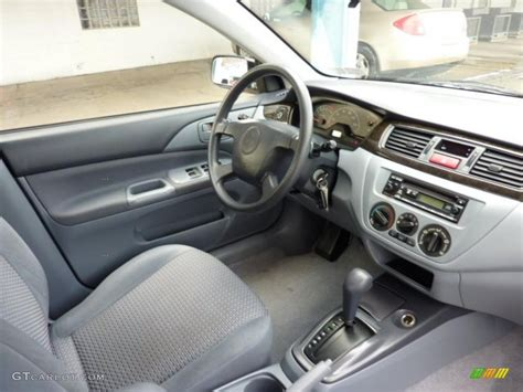 gray interior 2002 mitsubishi lancer es photo 41088397