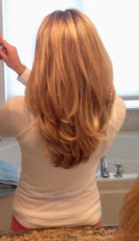 model rambut layer panjang  pendek potongan rambut