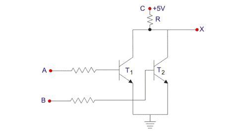 resistor transistor logic tutorial resistor transistor logic exle 28 images nor gate electrical4u basic tutorial lesson 3