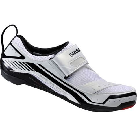 triathlon bike shoes wiggle shimano tr32 triathlon cycling shoes tri shoes