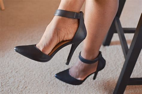 Would You Wear Careys High Heels by How To Wear Ankle Pumps Carey Fashion