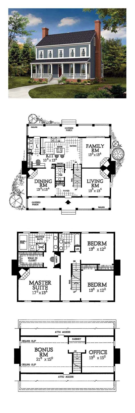 colonial floor plans best 25 colonial house exteriors ideas on