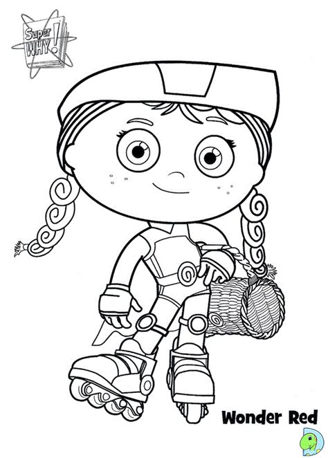 super why coloring pages games dinokids desenhos para colorir desenhos de super why