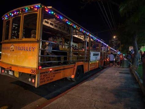 Honolulu City Lights Trolley Tour Events Ward Village
