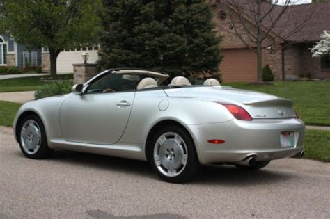 lexus convertible 4 door purchase used 2002 lexus sc430 base convertible 2 door 4