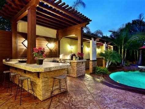 best outdoor kitchen designs 40 outdoor kitchen ideas designs 2016 2017 decoration y