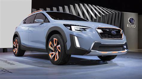 New Subaru Crossover 2018 by 2018 Subaru Xv Crosstrek Crossover Debuts In Geneva 2017