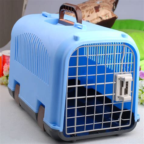 shipping a puppy by air pet air box tricolor new air box pet cage air out dogs and cats aircraft cage free