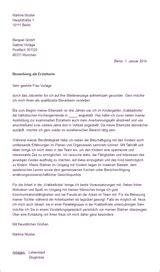 Bewerbungsschreiben Kinderpflegerin Bewerbungsunterlagen Erzieherin Bewerbungs Wiki