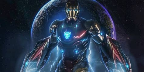 iron mans avengers endgame armor possibly spoiled