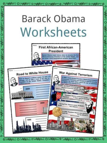 Barack Obama Biography 3rd Grade | michael jordan facts biography information worksheets