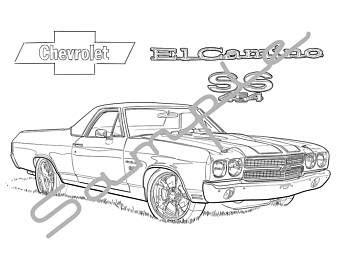 el camino drawing sketch coloring page