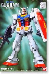 P R O M O Rg Gundam Rx 78 2 bandai b 72385 1 144 grade fg 01 rx78 2