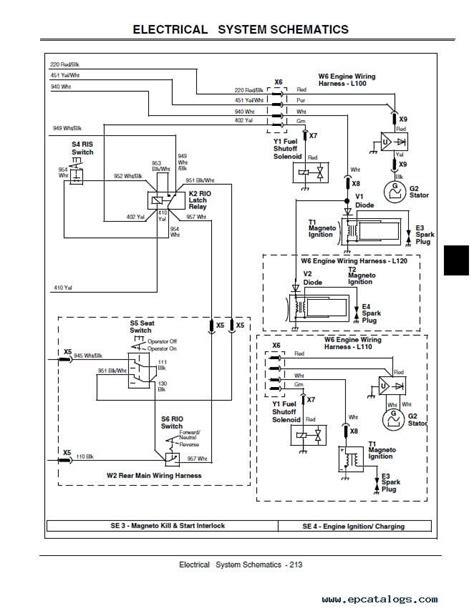 deere l130 wiring diagram deere l130 wiring