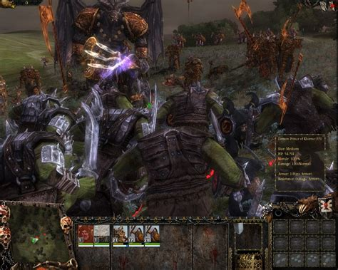 Warhammer Mark Of Chaos Hands On Battles Heroes