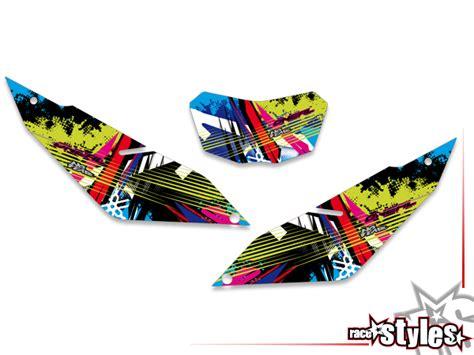 Yamaha Wr 125 R Sticker Kit by Yamaha Wr 125 R X Full Braaap Premium Neon Dekor
