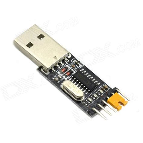 Usb To Ttl maitech ch340 module usb to ttl converter adapter module black free shipping dealextreme