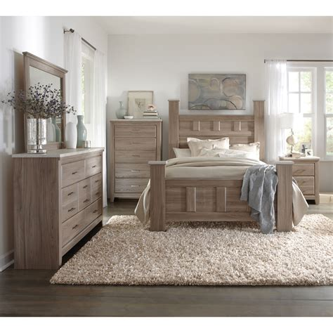 bedroom furniture ideas art van 6 piece queen bedroom set overstock shopping
