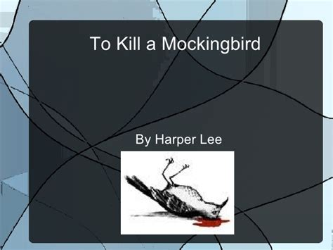 themes in to kill a mockingbird chapter 12 drew s powerpoint to kill a mockingbird
