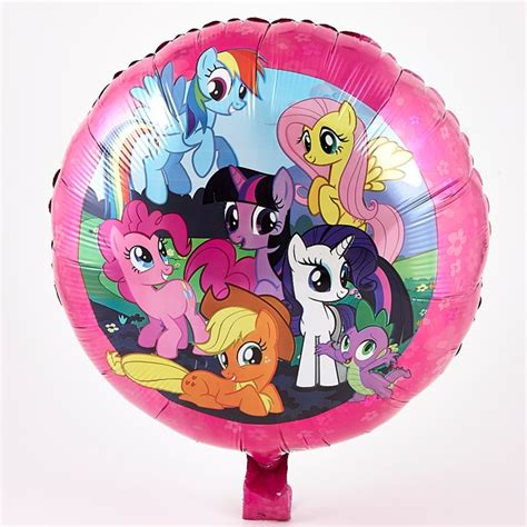 Balon Foil Pony Pink my pony foil helium balloon card factory