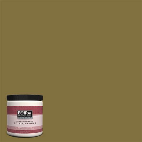 behr paint color olive behr premium plus ultra 8 oz s h 390 italian olive