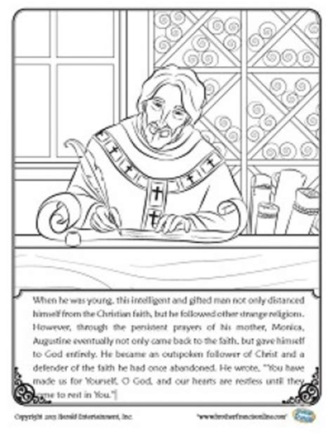 herald store free st augustine coloring pages