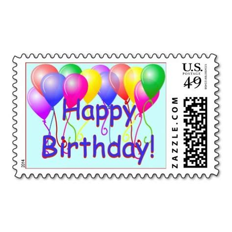 Birthday Cards And Balloons Delivered 17 Best Images About Birthday Postage Sts On Pinterest