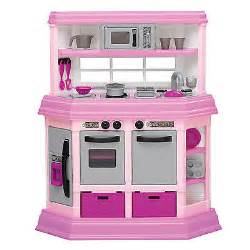 American Plastic Toys Cookin Kitchen With 22 Accessories American Plastic Toys Custom Kitchen Play Set Ebay