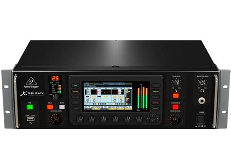behringer rack behringer x32 rack 40 input channel 25 bus digital rack