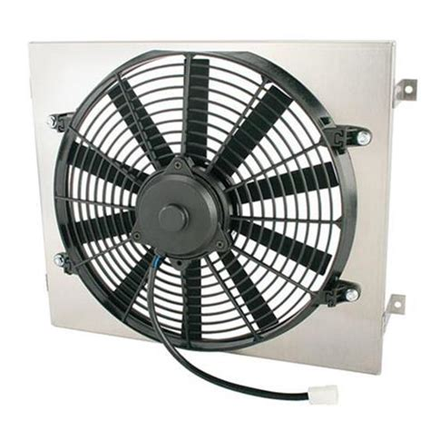 18 inch electric radiator fan single 14 inch fan shroud combo 15 w x 18 h free