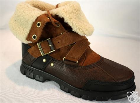 new mens polo boots polo ralph tavin rollover mens boots new