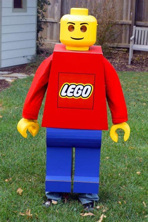 tutorial lego man diy tutorial halloween diy lego man costume bead cord