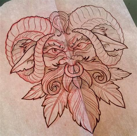 green man face tattoo design by iluv2rock99 on deviantart