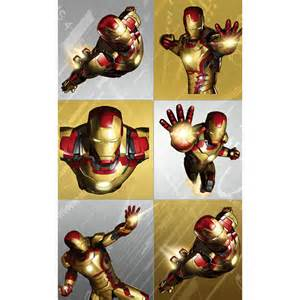 iron man 3 stickers party started
