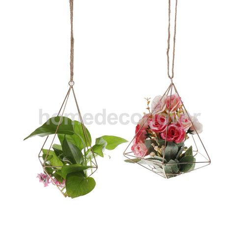 Diy Hanging Plant Holder - aliexpress buy rustic style diy wedding home garden