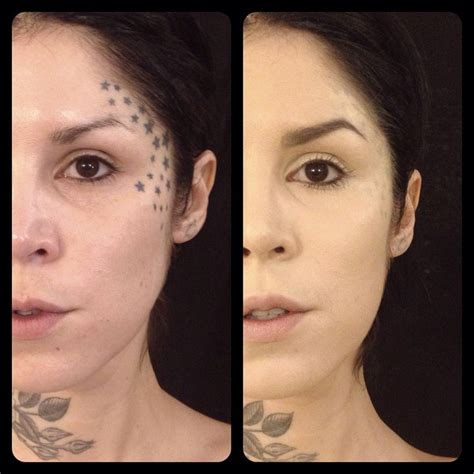 kat von d tattoo cover up d no makeup mugeek vidalondon