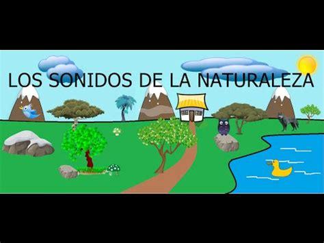 imagenes de sonidos naturales los sonidos de la naturaleza para ni 241 os youtube