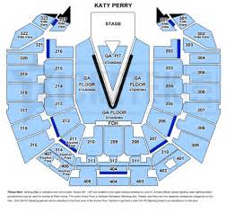 Rod Laver Floor Plan by Katy Perry The Prismatic World Tour