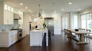 Open Kitchen Design With Island by Creating An Open Kitchen And Dining Room