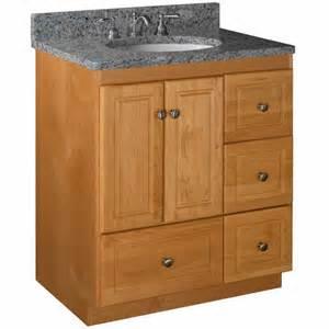 bathroom vanities strasser woodenworks 30 quot w simplicity