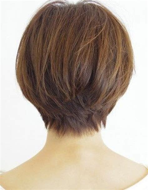 short haircuts women over 50 back of head back view of short haircuts older women