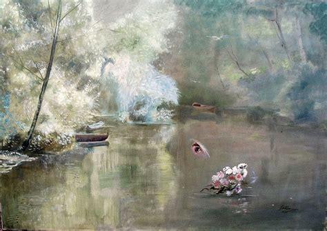 La Rive Best Ori galliano cagnolati il pittore delle nebbie