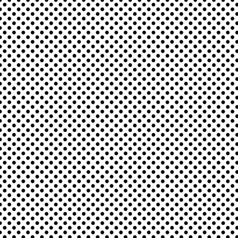 pattern dot black free digital scrapbook paper white w black polka dots
