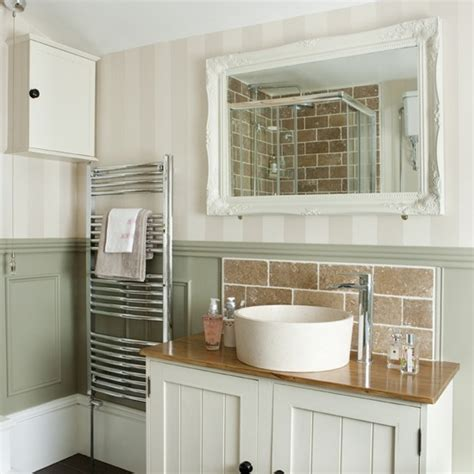 Bathroom Makeovers Country Style Bespoke Basin Unit Be In Inspired By This