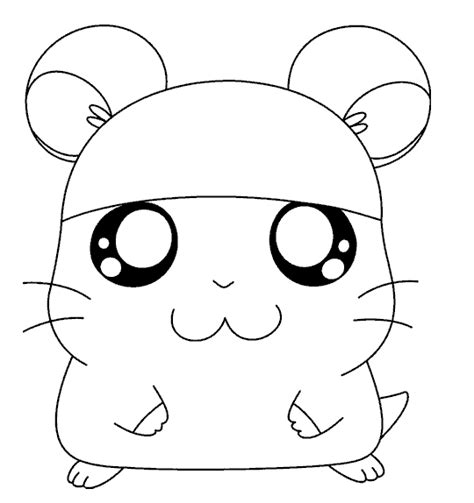 Coloring Page Hamster by 14 Hamster Coloring Pages Printable Print Color Craft