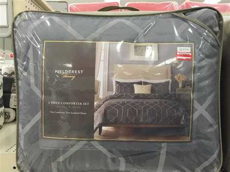 fieldcrest luxury 3 piece comforter set the hunt how i got 100 bedding for cheap and other