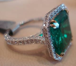 Muzo Emerald 2 48 Carat azure accessories quot birthstone of the month quot emerald again