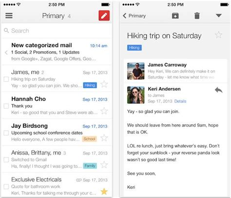 Gmail Email Search Free The Best Email Apps For Iphone