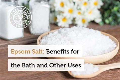 Side Effects Of Baking Soda Epson Salt Detox Bath by Epsom Salt 10 Benefits For The Bath And Other Uses
